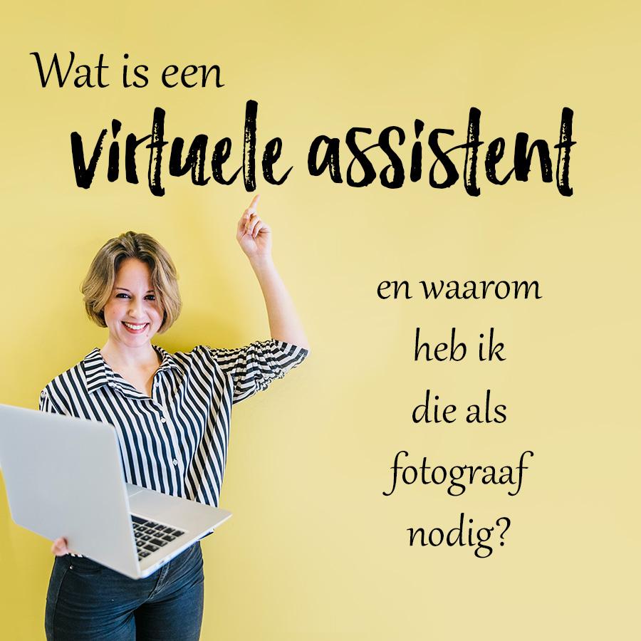 Wat is een virtuele assistent en waarom heb ik die als fotograaf nodig?